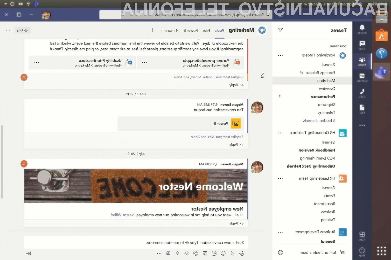 Storitev Microsoft Teams bo zagotovo razveselila marsikaterega uporabnika odprtokodnih distribucij Linuxa.