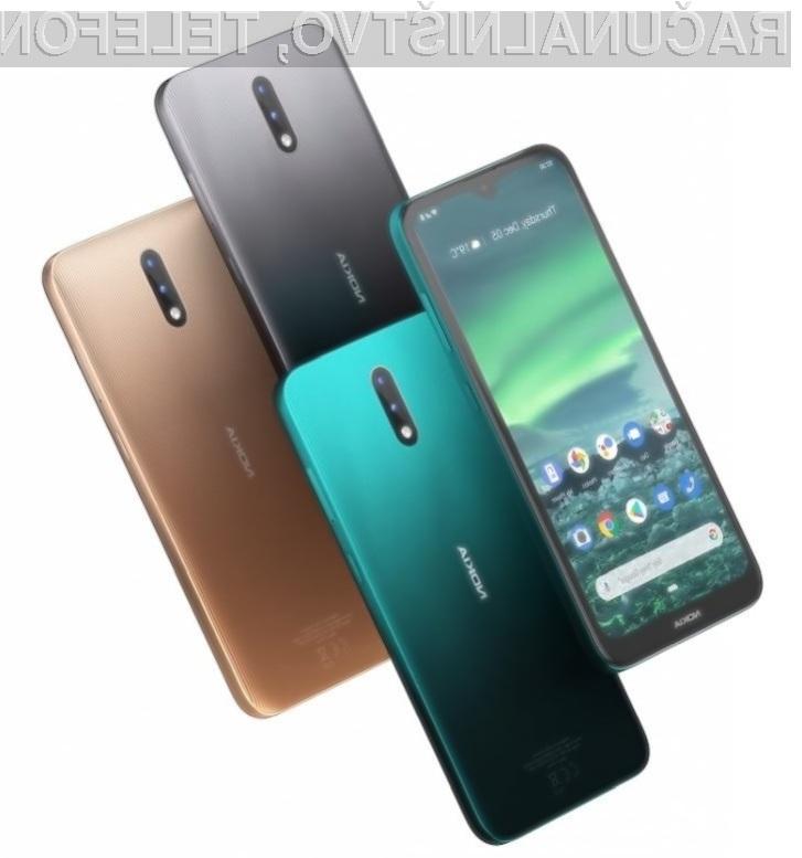 Nokia 2.3 je poceni in ponuja dolgo avtonomijo delovanja.