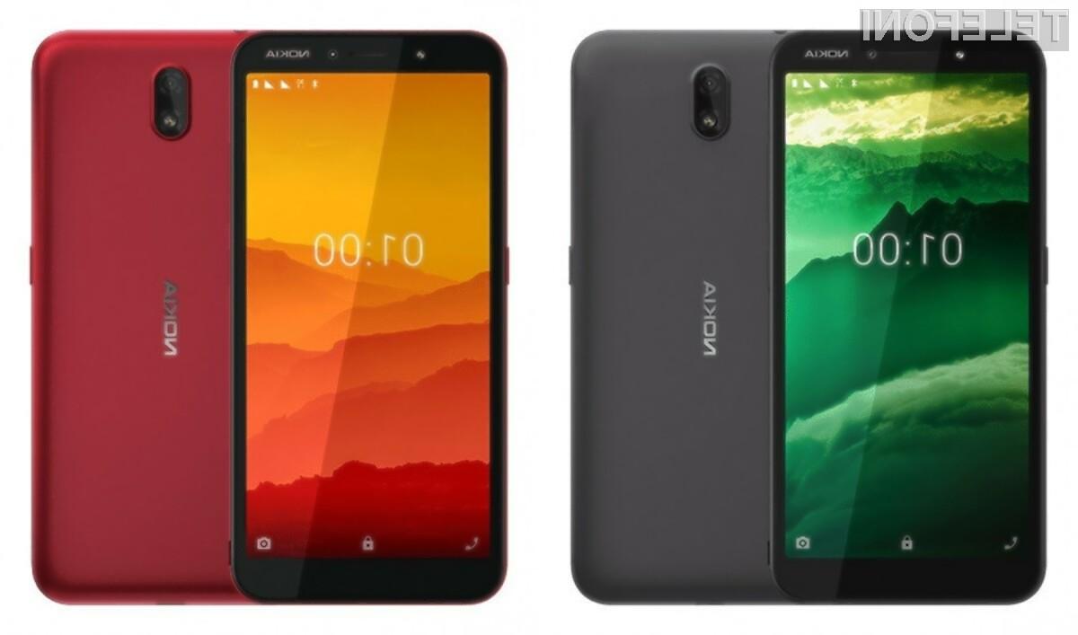 Pametni mobilni telefon Nokia C1 je poceni, da dovolj zmogljiv za vsakodnevna opravila.