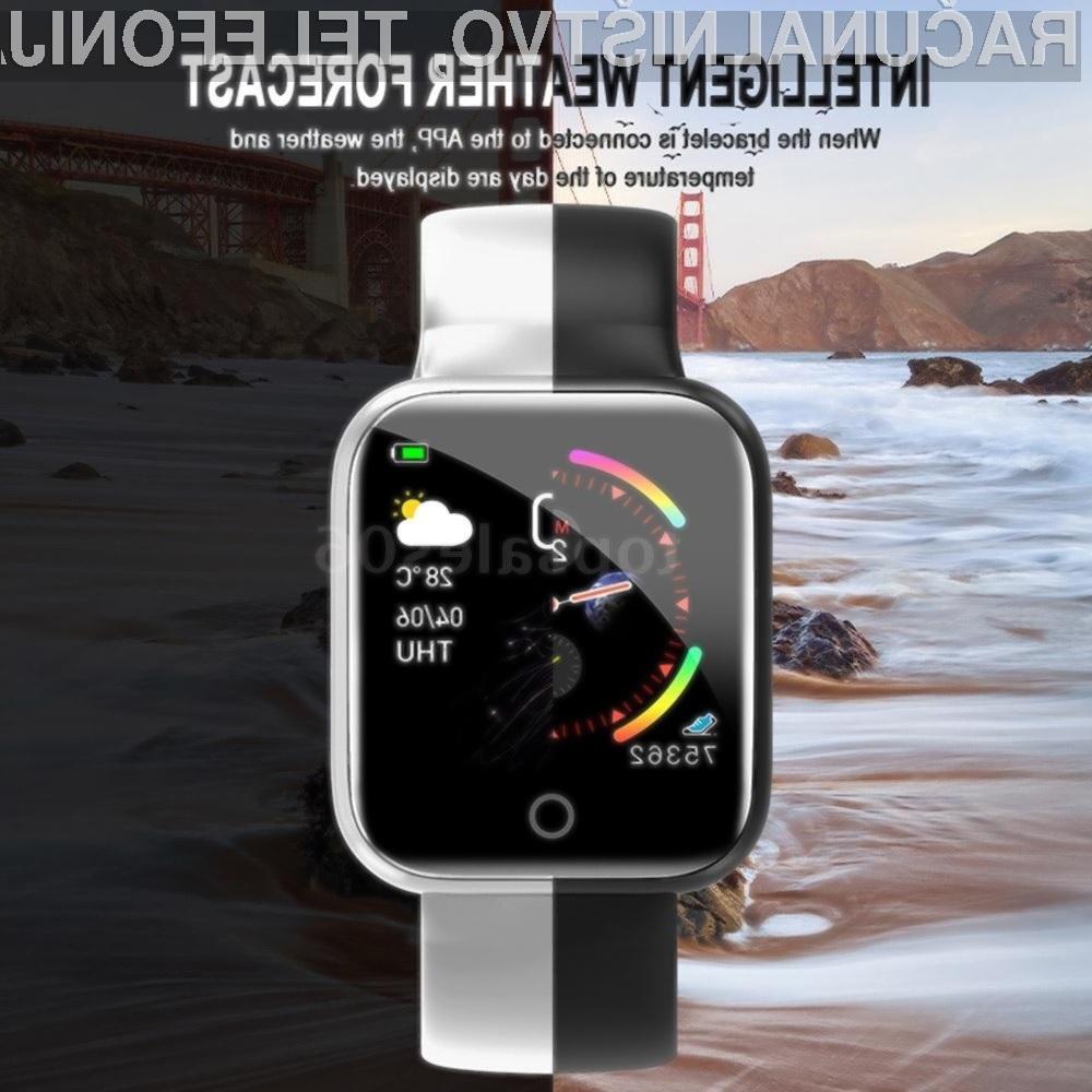 Športna ročna ura I5 Smart Sport Watch je lahko vaša že za 11,39 evrov.