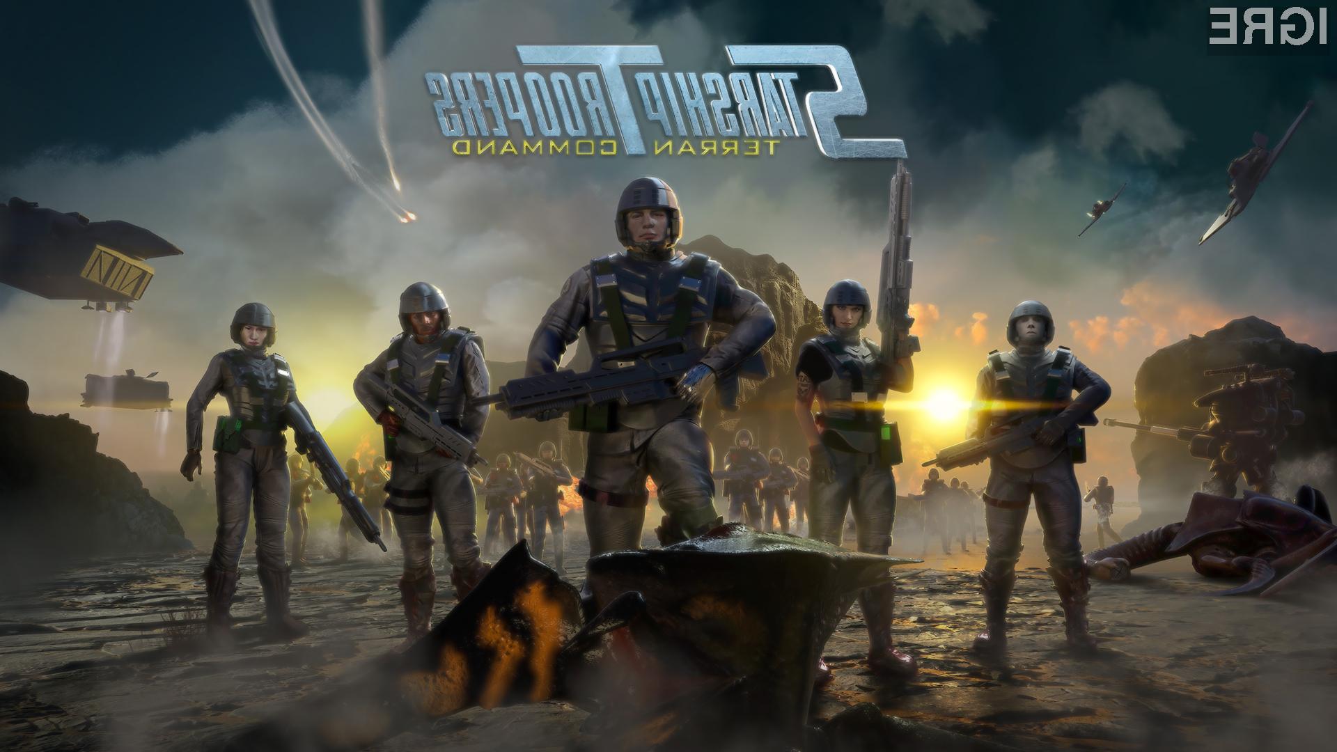 Terran Command bo druga strateška igra v seriji Starship Troopers.