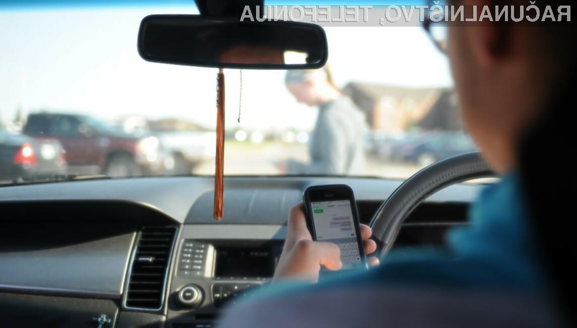 Voznike s telefoni bo na avstralskih cestah »lovila« kar umetna inteligenca.