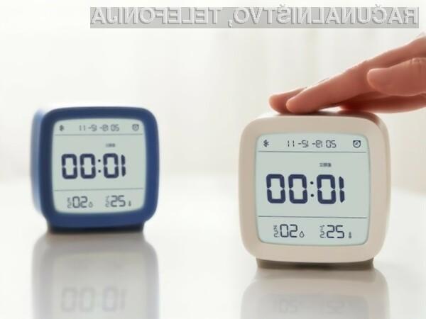 Namizna budilka Xiaomi Qingping Bluetooth Alarm Clock je uporabna in zelo poceni.