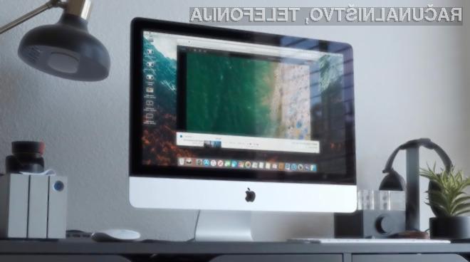 Novi Apple iMac bi lahko bil izdelan v celoti iz stekla.