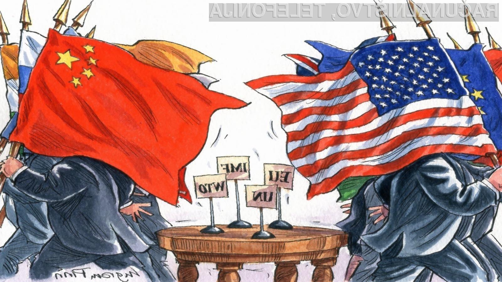 Trgovinska vojna med ZDA in Kitajsko naj bi se kmalu še dodatno zaostrila!