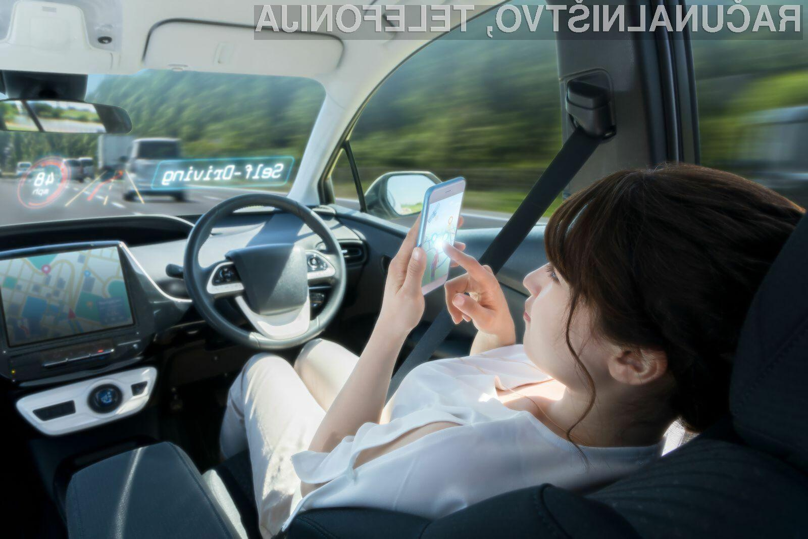 Huawei bo za razvoj samodejnih vozečih avtomobilov uporabil prednosti mobilne tehnologije 5G.