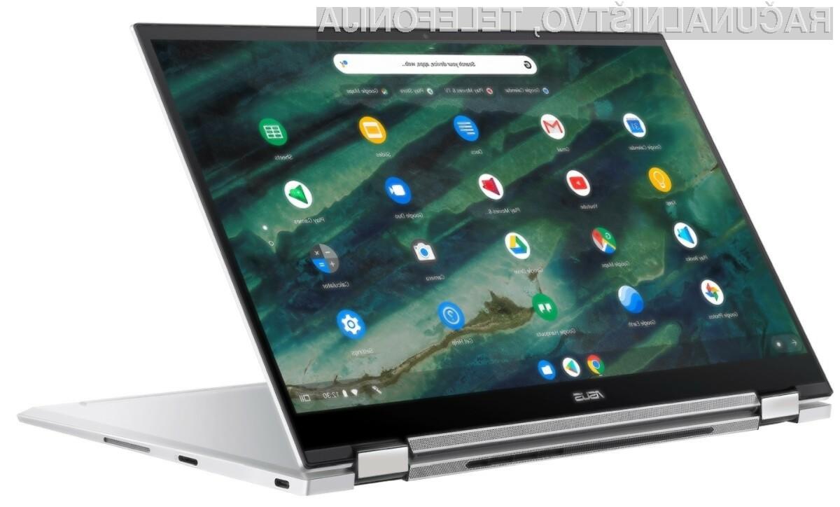 Prenosnik Asus Chromebook Flip C436 za malo denarja ponuja veliko!