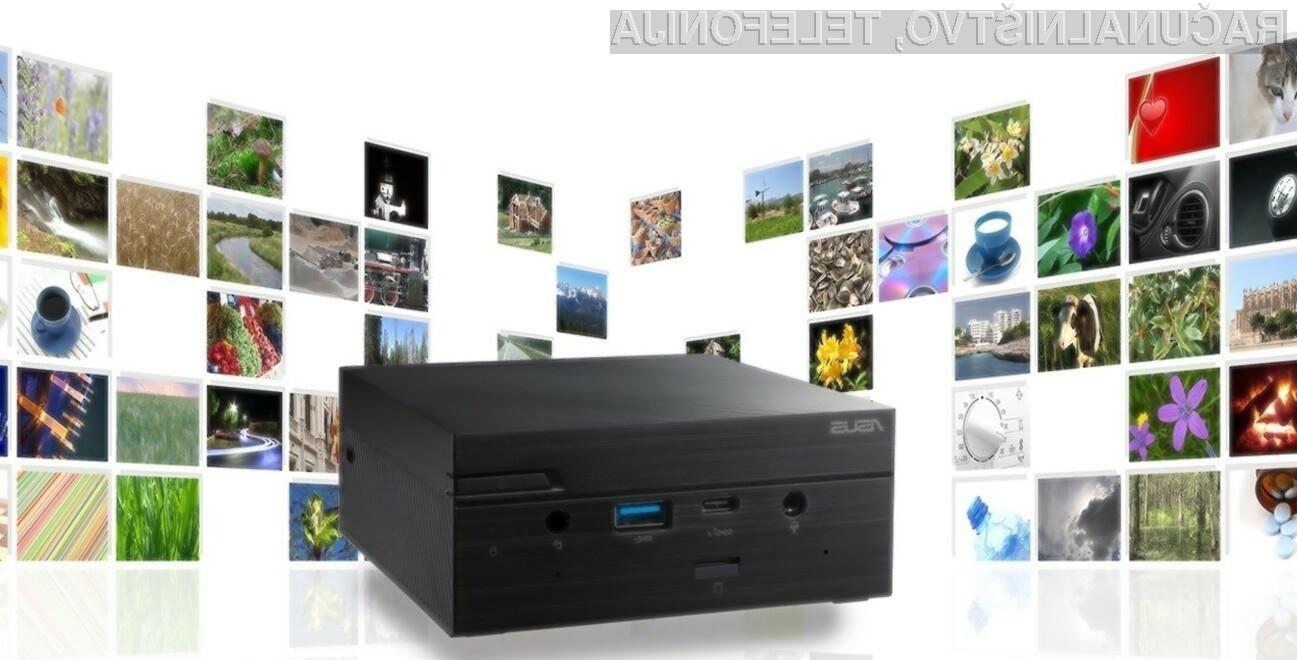 Kompakten Asus Mini PC PN62 je kos tudi najzahtevnejšim opravilom.