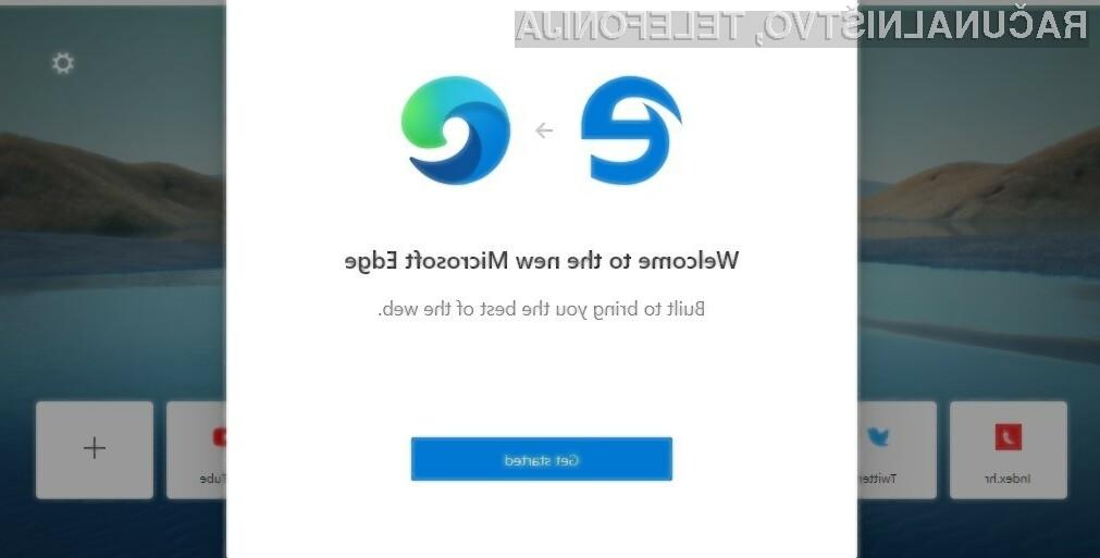 Novi Microsoftov spletni brskalnik Edge je na voljo za bogato paleto operacijskih sistemov, vključno z mobilnimi.