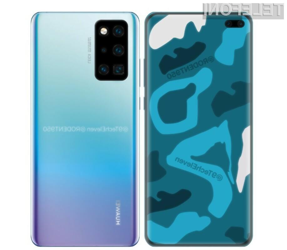 Pametnega mobilnega telefona Huawei P40 po vsej verjetnosti ne bo mogoče kupiti v Evropi.