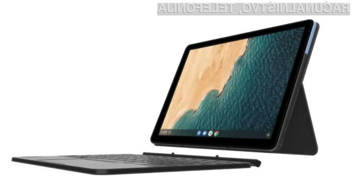Prenosni računalnik Lenovo IdeaPad Duet lahko enostavno preobrazimo v tablični računalnik.