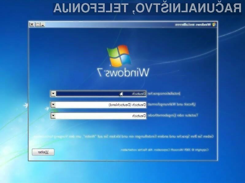 Nemške oblasti imajo Windows 7 še vedno nameščen na 20 tisoč računalnikih.