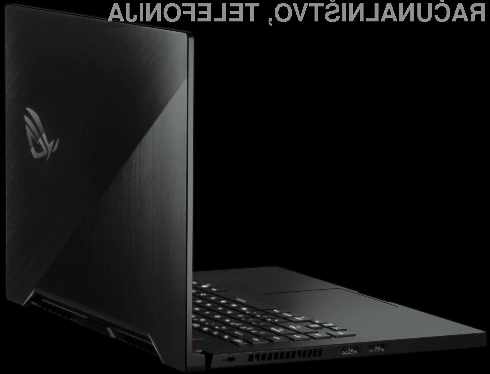 Prenosni računalnik Asus ROG Zephyrus G15 bo kos tudi najzahtevnejšim nalogam!