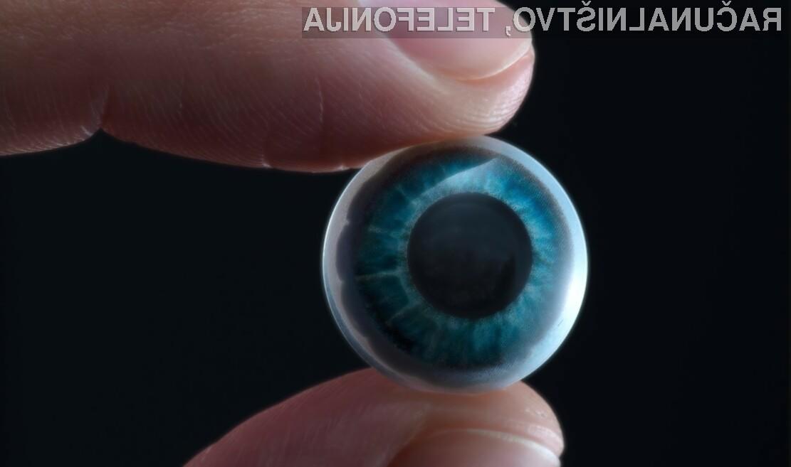 Pametna kontaktna leča bo namenjena tako slabovidnim kot prikazovanju razširjene resničnosti.