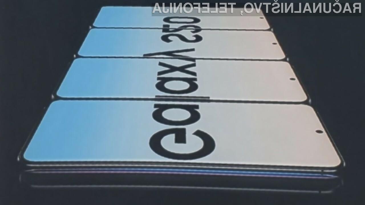 Pametni mobilni telefoni Samsung Galaxy S20 bodo javnosti predstavljeni 11. februarja letos.