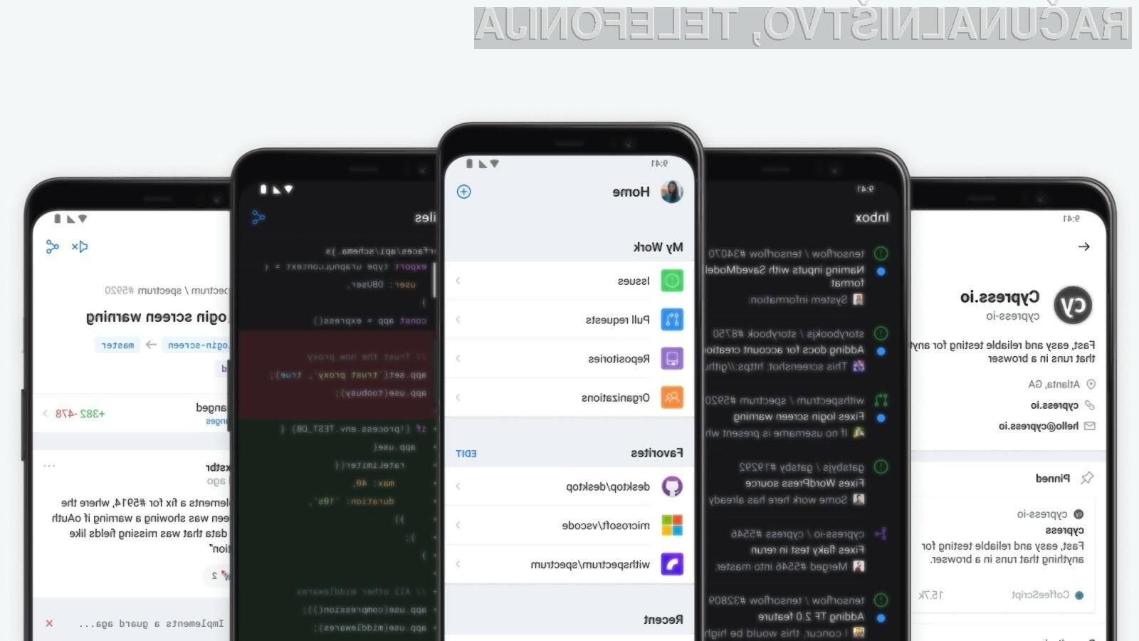 GitHub za Android je trenutno še vedno v poskusni fazi.