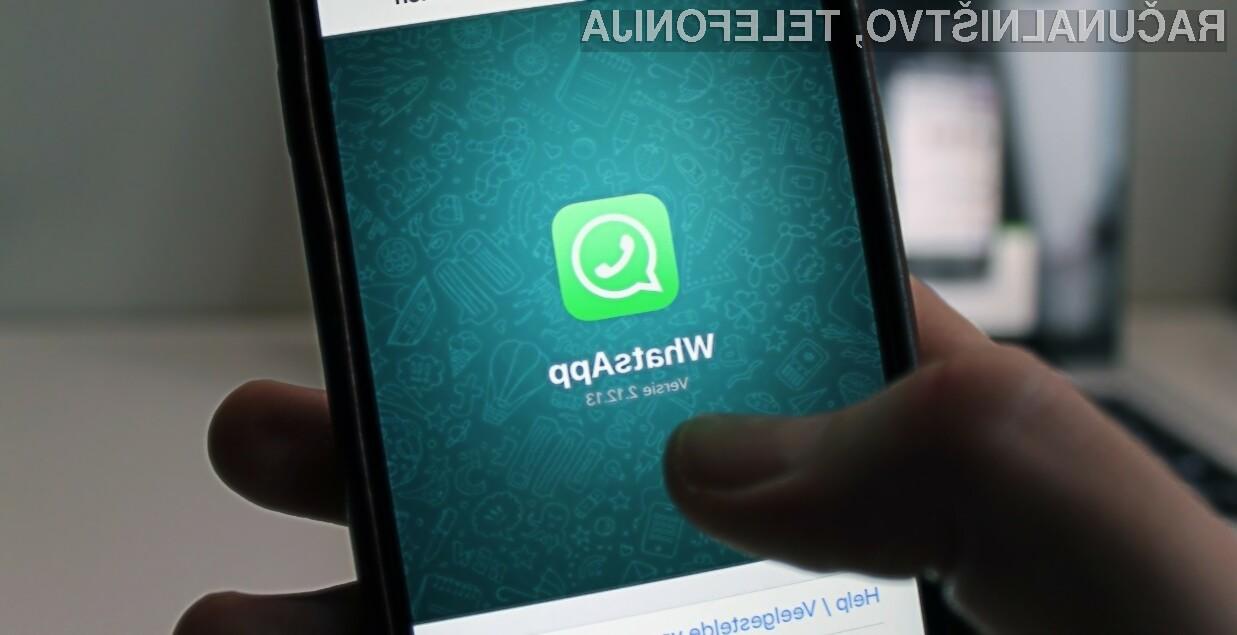 WhatsApp nam vendarle ne bo prikazoval oglasov!