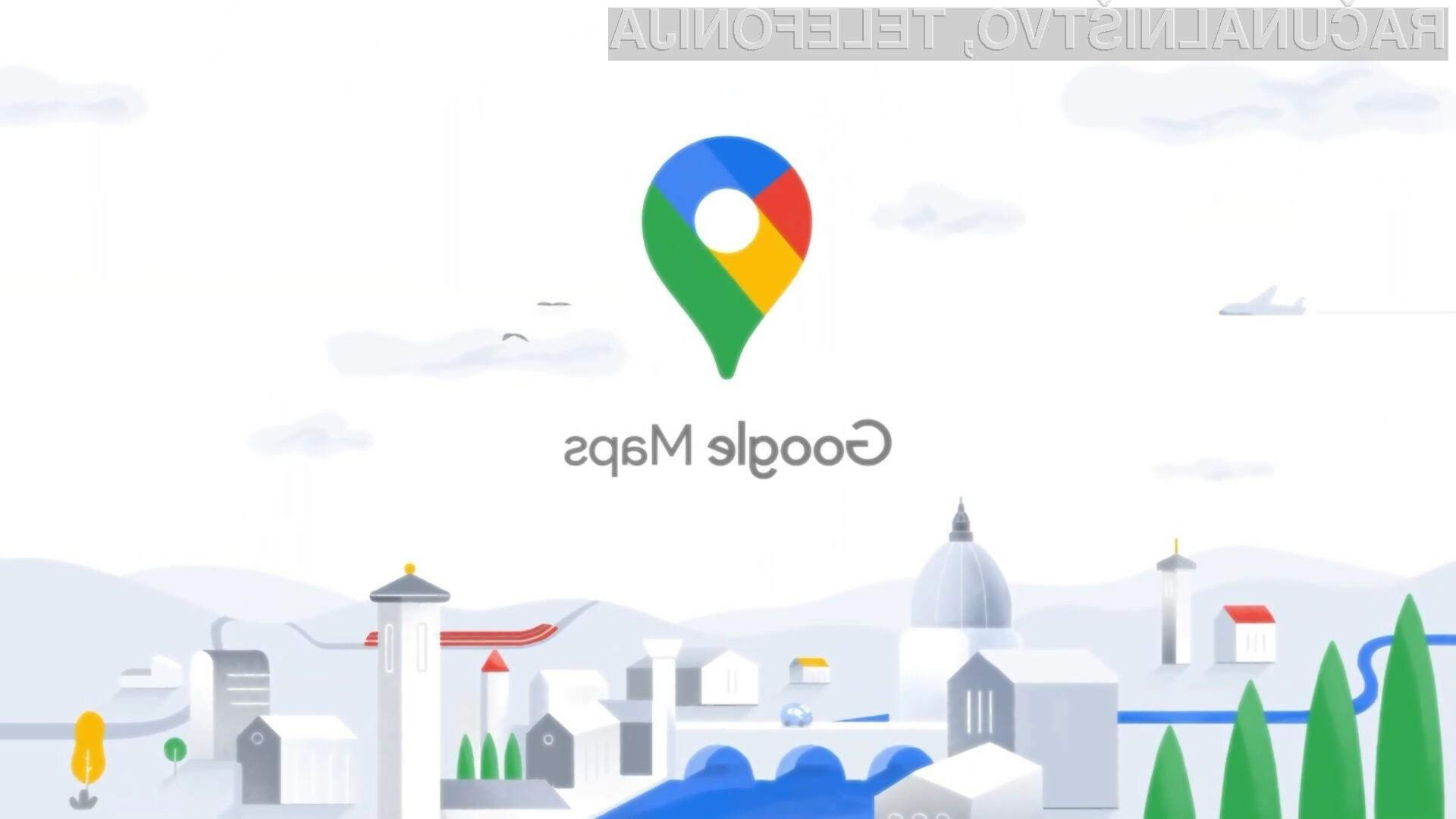Priljubljena storitev Google Maps je med nami  prisotna že 15 let!