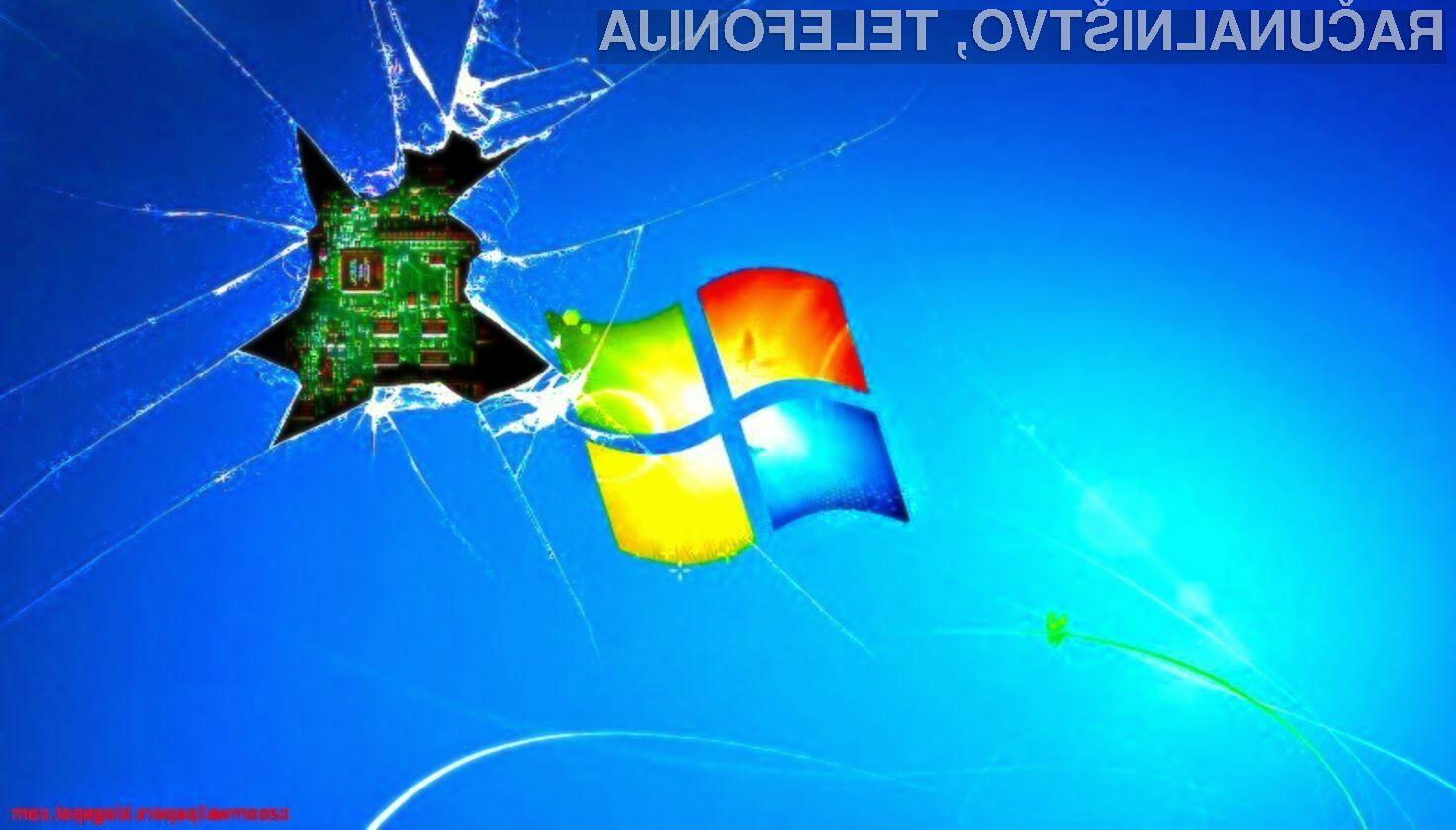Številni uporabniki Windowsa 7 so z novo posodobitvijo ostali brez možnosti zaustavitve sistema.