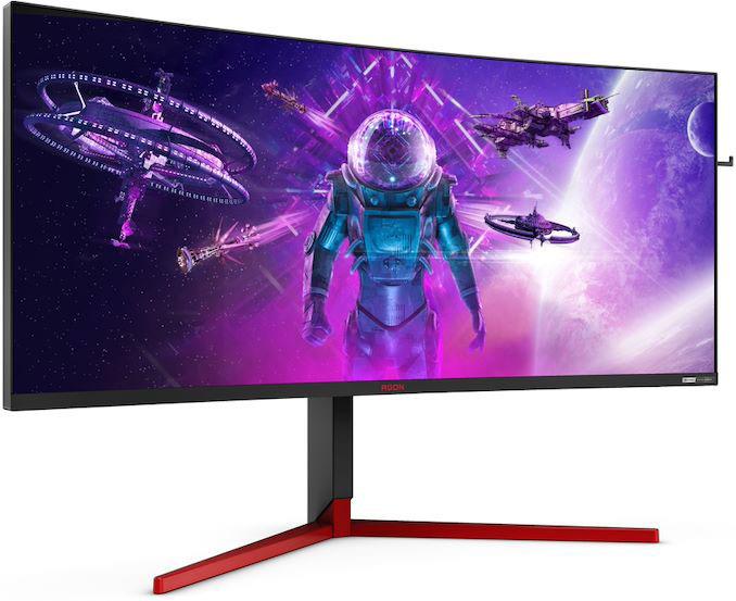 AOC-jev izjemno hiter in ultra-širok gaming monitor AG353UCG