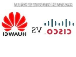 Huawei je tokrat obtožen kraje izvorne kode usmerjevalnikov podjetja Cisco.