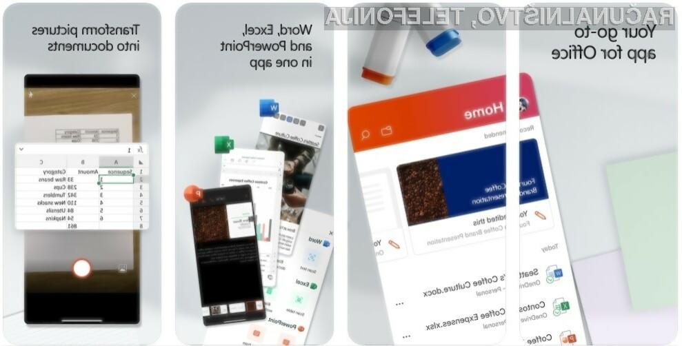 Enotni mobilni Office tudi za telefone iPhone!