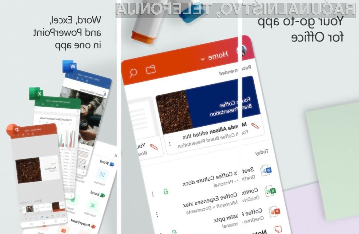 Microsoft Office za Android je postal še boljši in uporabnejši!