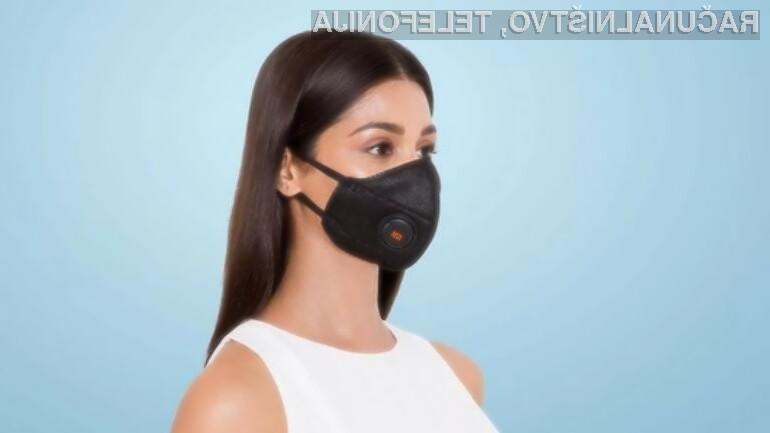 Pametna zaščitna maska naj bi uporabniku posredovala veliko koristnih informacij!