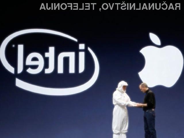 Naveza podjetji Apple in Intel naj bi kmalu postala del zgodovine.