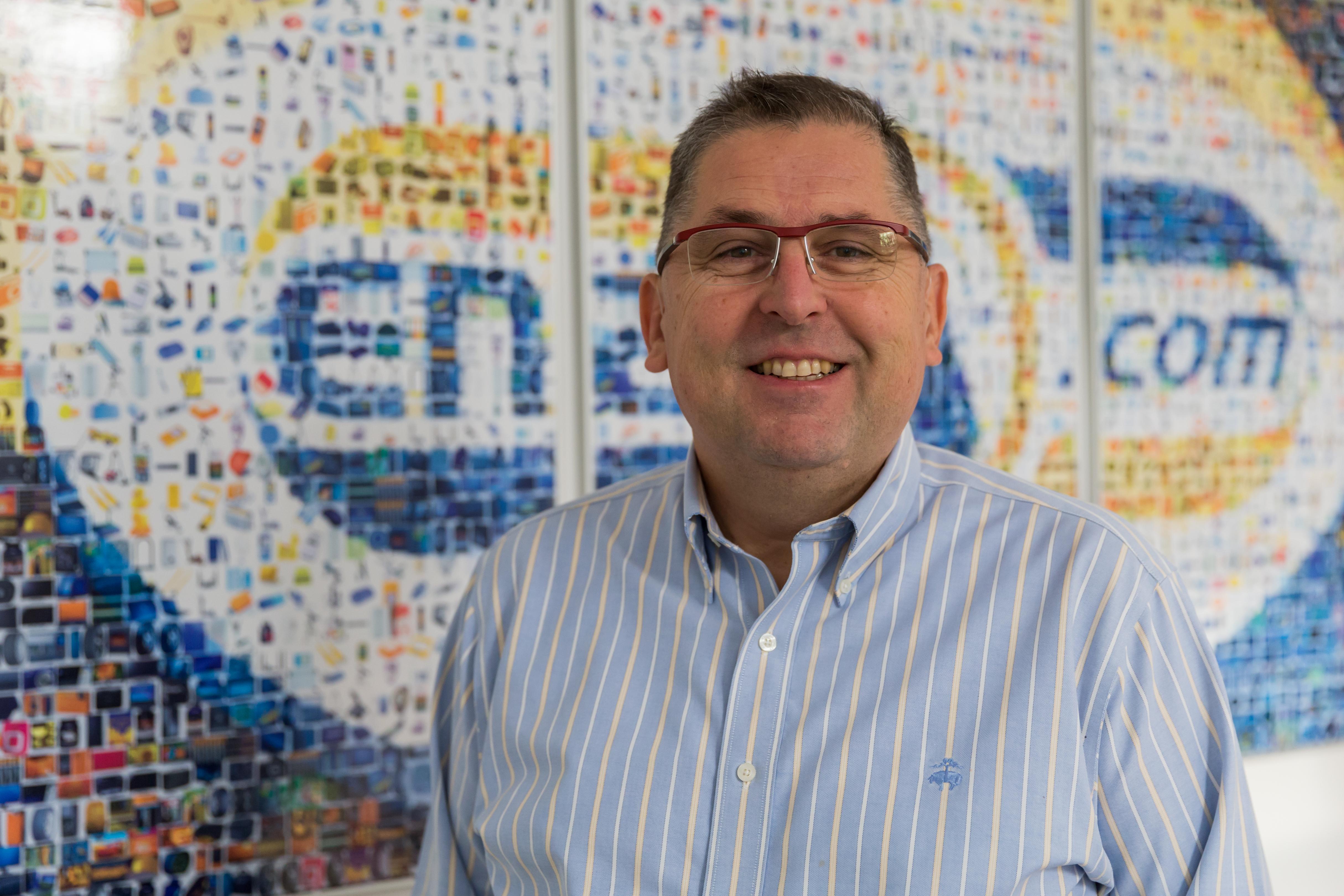 Aljoša Domijan, serijski podjetnik, partner v podjetju Gambit trade d. o. o., ki upravlja spletno trgovino enaA.com