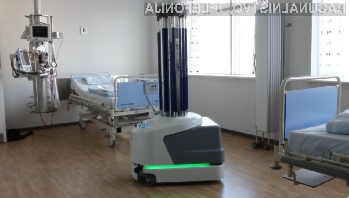 """Bolnišnica """"Dr. Ivo Pedišić"""" v hrvaškem mestu Sisak (Sisek) se je kot prva v regiji odločila za nakup robota za razkuževanje podjetja UVD Robots."""