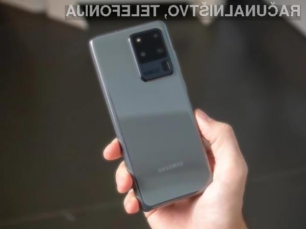 Samsung je končno odpravil težave z ostenjem glavnega fotoaparata pametnega mobilnega telefona Galaxy S20 Ultra.