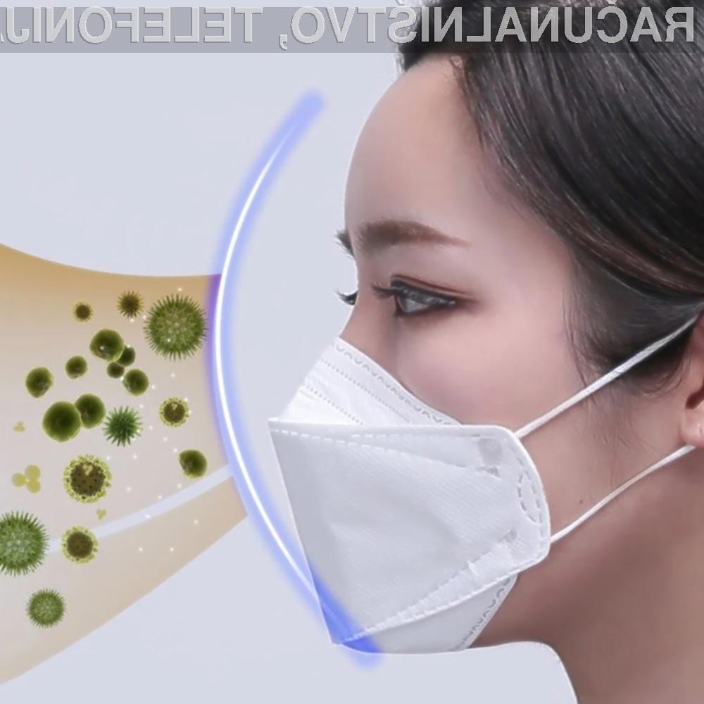 Zaščitne maske KF94 Face Mask lahko filtrirajo do 94 odstotkov delcev v zraku.