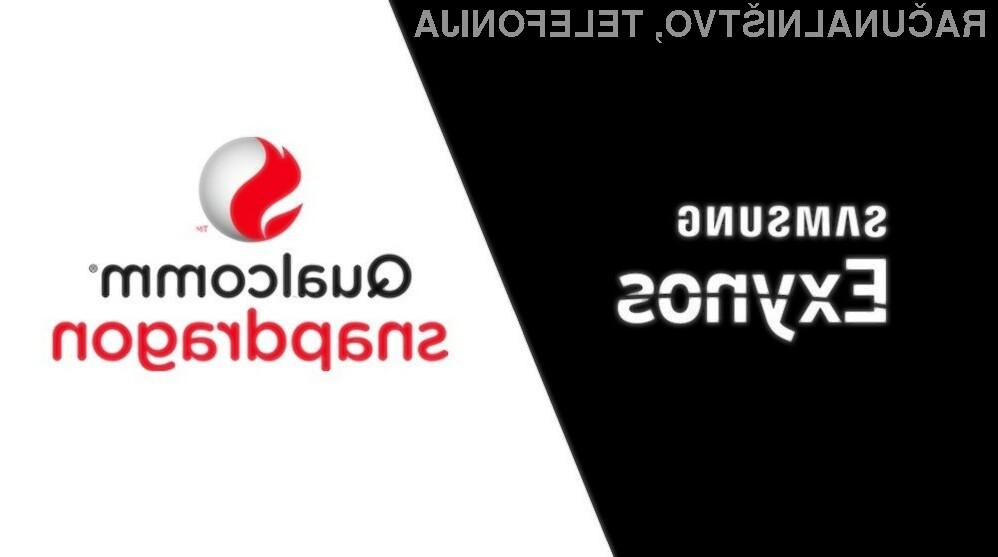 Procesorji Qualcomm družine Snapdragon naj bi bili nekoliko boljši od mobilnih procesorjev Samsung družine Exynos.