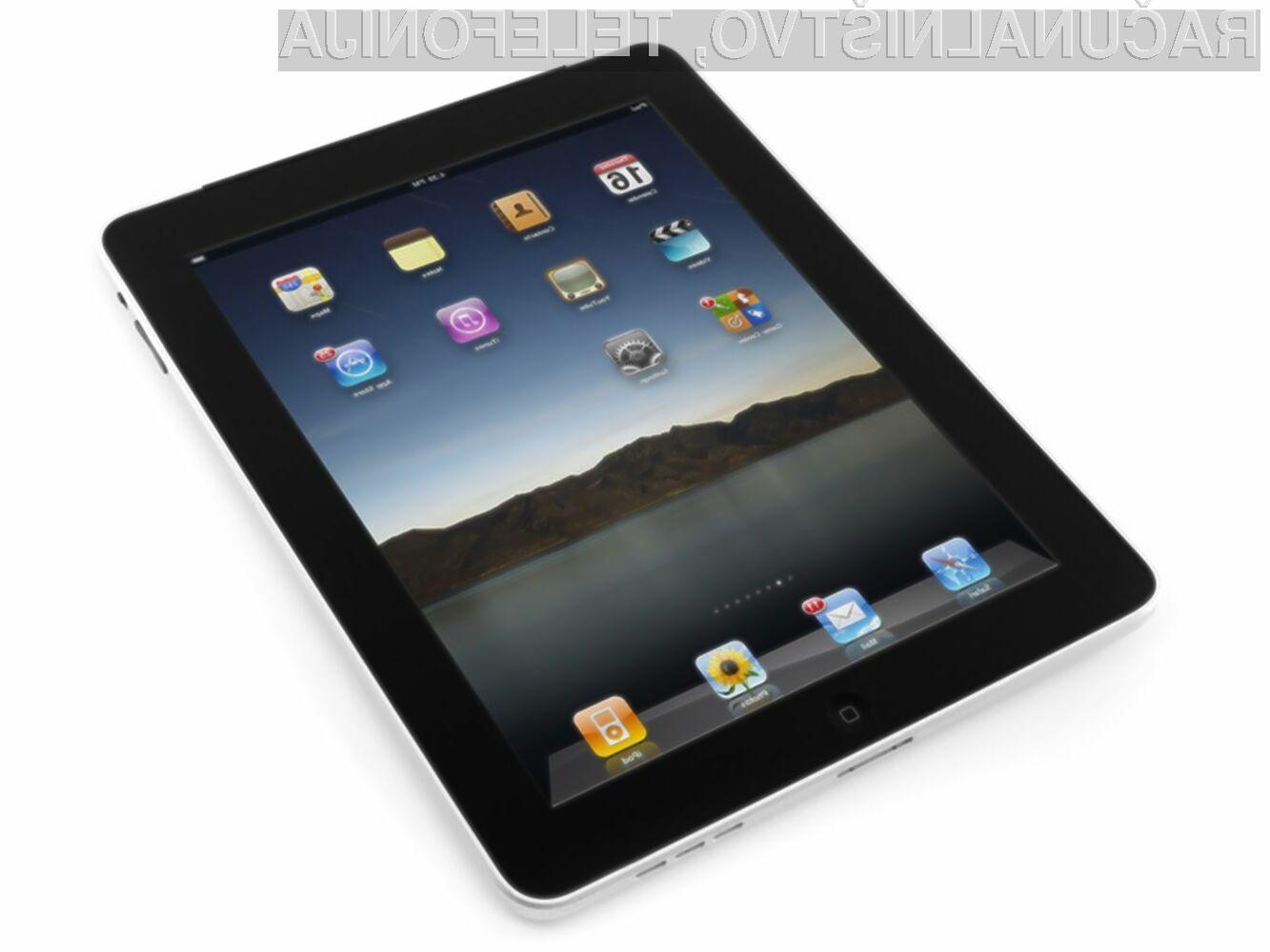 Tablični računalnik Apple iPad se je izkazal za veliko prodajno uspešnico!