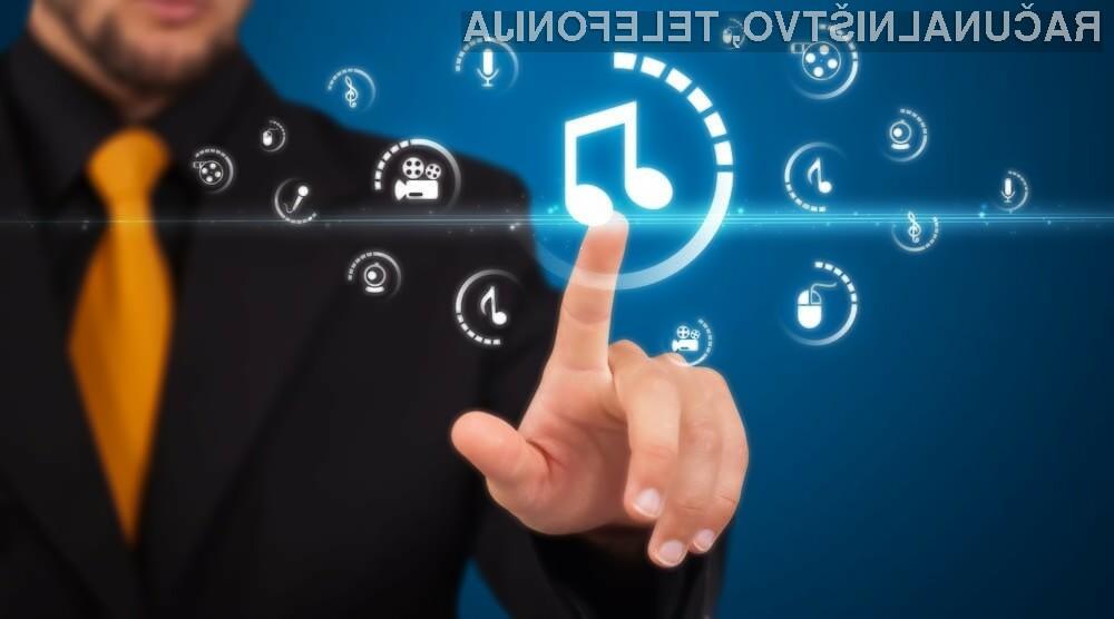 Trg pretakanja glasbe se je v lanskem letu povečal za kar 32 odstotkov!
