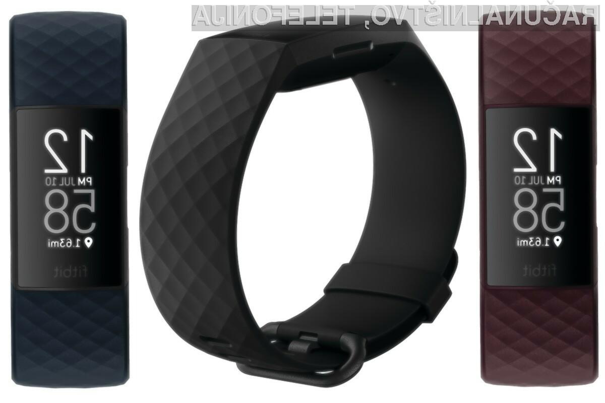Pametna zapestnica Fitbit Charge 4 končno med nami. Kaj nam prinaša?