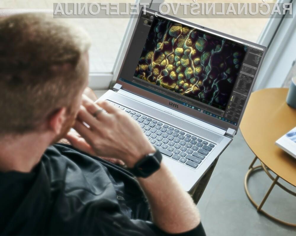 Prenosni računalnik MSI Creator 17 je namenjen predvsem profesionalnim ustvarjalcem večpredstavnostnih vsebin.
