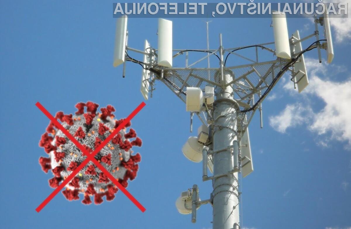 Nobenih veljavnih dokazov ni, ki bi povezali omrežja 5G in koronavirus!