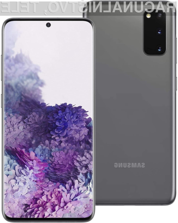 Samsung je pametni mobilni telefon Galaxy S20 opremil s kvantnim generatorjem naključnih števil.