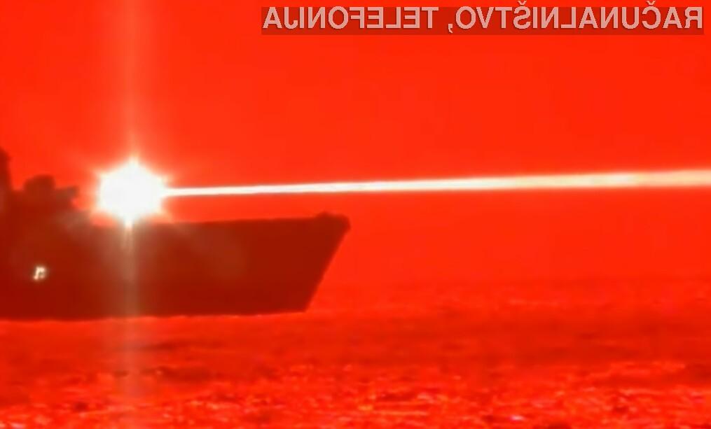 Laserski topovi bodo z leti postajali vse zmogljivejši in kompaktnejši!