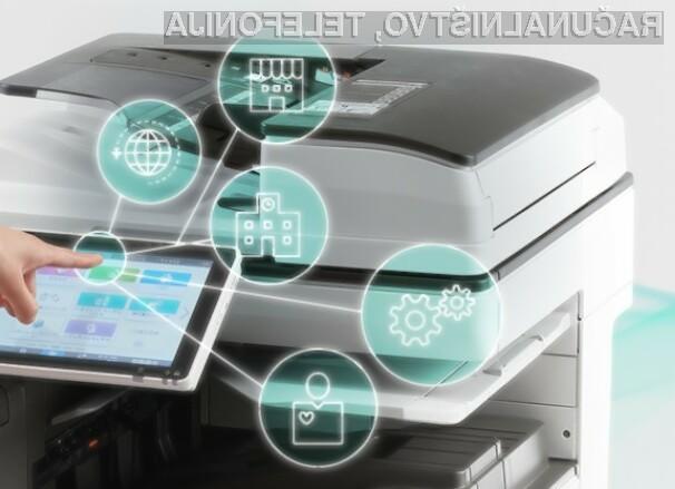 Večnamenski tiskalniki podjetja Ricoh izpolnjujejo vse potrebe podjetij.