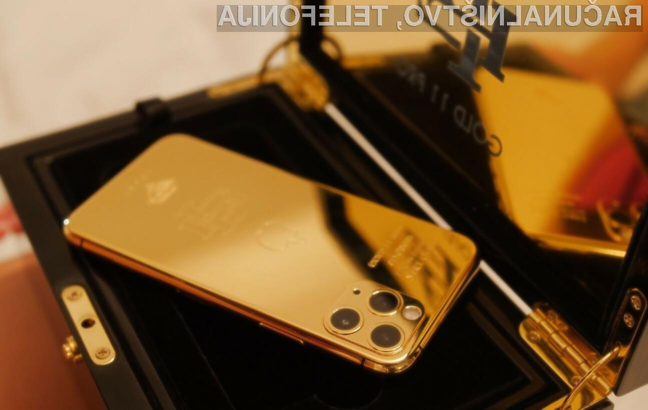 Zlati iPhone 11 Pro je lahko vaš že za zgolj preračunanih 450 evrov.