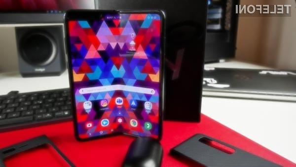 Samsung Galaxy Fold Lite 4G bo kljub temu, da je prepogljiv, na voljo po zmernejši ceni.