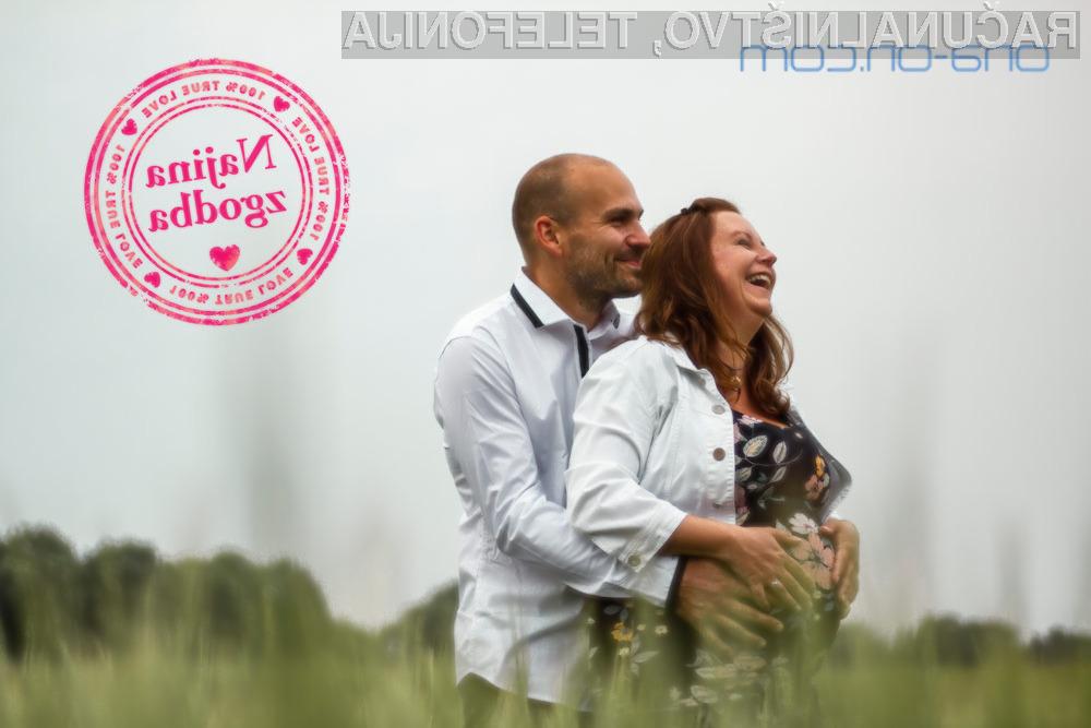 Katja in Mišel sta se spoznala na spletu. Zdaj načrtujeta sanjsko poroko.