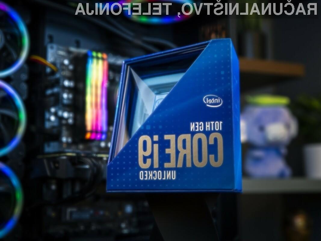 Procesor Intel Core i9-10900K se navija kot za stavo!