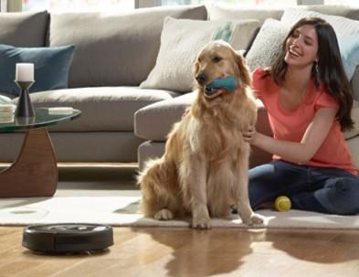 Roomba bo tudi dlake vaših hišnih ljubljenčkov sesala sproti in brez napora.