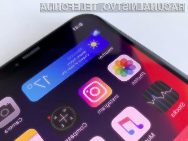 Novi iOS 14 bo mogoče namestiti na vse mobilne naprave, ki trenutno poganjajo mobilni operacijski sistem iOS 13.