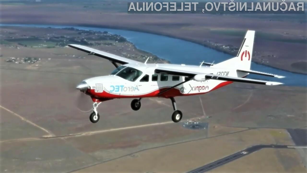 Električna potniška letala bi lahko kaj kmalu postala del našega vsakdana.