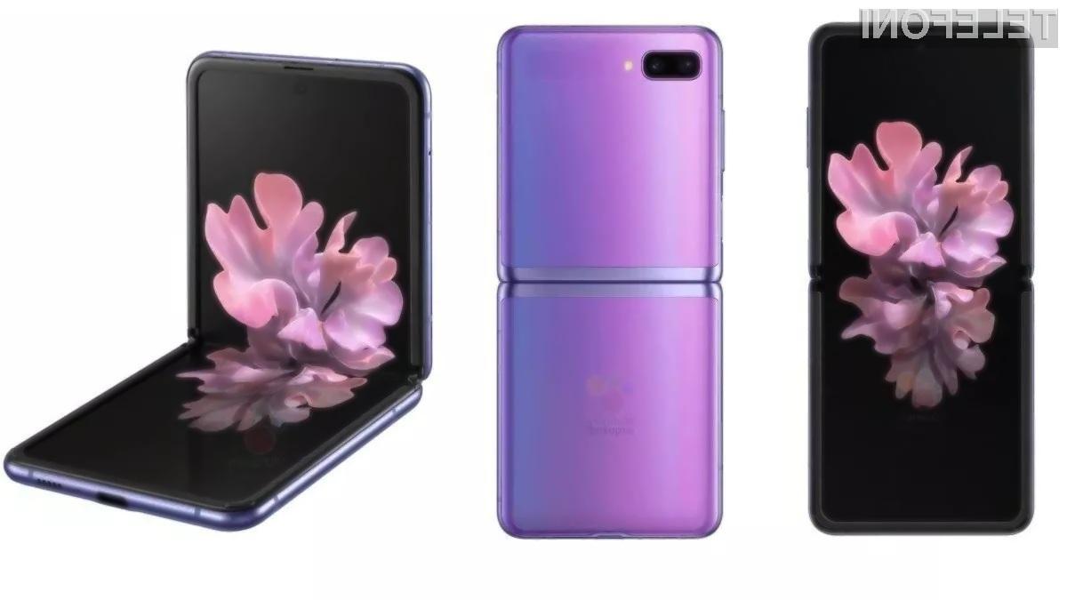 Novi Samsung Galaxy Z Flip 5G naj bi bil predstavljen še pred koncem poletja.